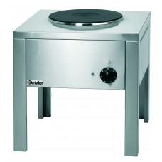 Elektrische Wokbrander Kookplaat Hokker | E1K350 | Kookplaat Ø30cm | 400V Kookplaat