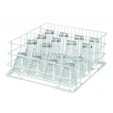 Afwaskorf voor Glazen | 40 x 40 x H18.5 cm. Vaatwaskorven