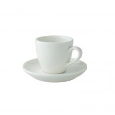 Robusta Espresso Kop & Schotel Ivoor 8 cl. Per 12 Palmer Robusta