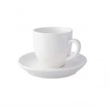 Robusta Koffie Kop & Schotel Ivoor 14 cl. Per 12 Palmer Robusta
