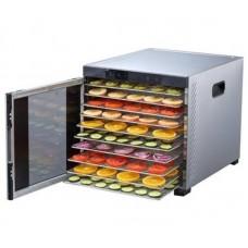 Voedseldroger met 10 Trays Profi Line 1000 Watt Voedseldroger