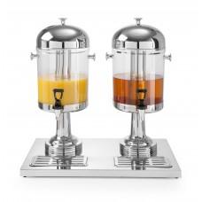 Sapdispenser met IJs Cilinder 2 x 8 Liter NIEUW Drank Dispensers