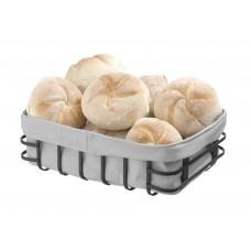 Broodmand met Zak Rechthoekig | 250x180x(h)85mm Broodmanden