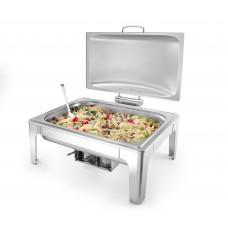 Chafing Dish Profi Line | Mat RVS | GN 1/1 | 9 Liter Chafing Dishes