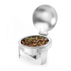 Chafing Dish Profi Line | Mat RVS | Rond Model | 6 Liter Chafing Dishes