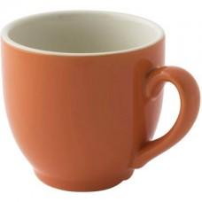 Colors Koffie Kop en Schotel Oranje 14 cl. | Per 6 Palmer Colors