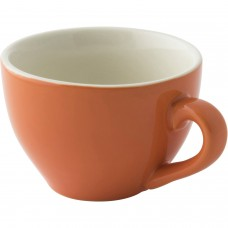 Colors Cappuccino Kop en Schotel Oranje 18 cl. | Per 6 Palmer Colors