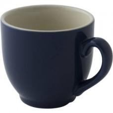 Colors Koffie Kop en Schotel Blauw 14 cl. | Per 6 Palmer Colors