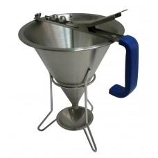 Fondanttrechter RVS 1.5 Liter Patisserie