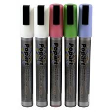 Krijtstift 4 Kleuren Per 5 stuks Tafelkrijtbord