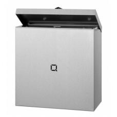 Qbic Hygiënebak RVS Inhoud 9 liter  Qbic-Line RVS Dispensers