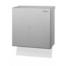 Qbic Handdoekdispenser RVS Mat Geslepen  Qbic-Line RVS Dispensers