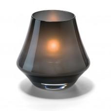 Hollowick Conische Lamp Zwart Mat Glas | 5 X 9 cm. | 12 stuks Hollowick Theelicht