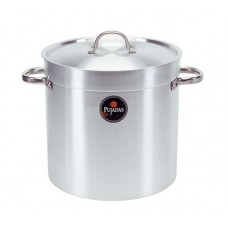 Pujadas Kookpan met Deksel | Hoog Model | 12 Liter