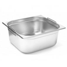 Budget Line Gastronorm Bak met Handgrepen GN2/3 - 150 mm diep GN Bakken Kitchen Line met Handgrepen