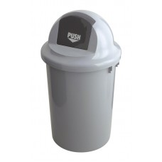 Kunststof Afvalbak met Klapdeksel | 60 Liter | Ø45x(H)81cm Afvalbakken