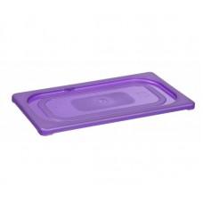 Gastronormdeksel Paars | Allergenen | GN1/9 |176 x 108 mm Voedsel Allergie Producten