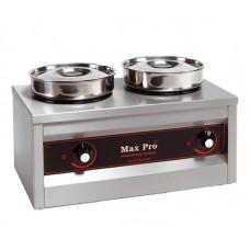 Thermosystem Foodwarmer Hotpot met 2 Pot 4.5 Liter Bain Marie Tafelmodel