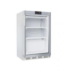 Statische Witte Display Vriezer met Glasdeur | -18/-2410°C | 60 x 60 x H85 cm. Display Vriezers