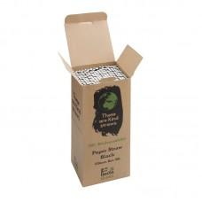 Fiesta Green Zilver Biologisch Afbreekbare Papieren Rietjes | 250 stuks Rietjes Fiesta