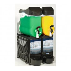 Diamond Slush Machine met LED | 2 x 10 liter | FABY-2/BB