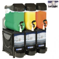 Diamond Slush Machine met LED | 3 x 10 liter | FABY-3/CB