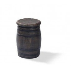 Barrel Barkruk Laag Polyethyleen Ø 40 x H 55 cm. Per 2 stuks Barrels Kunststof
