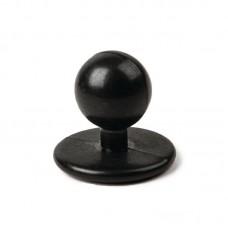 Bolknopen zwart Koksbuis Chicago