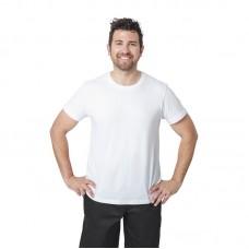 T-shirt wit - Maat L Heren Shirts