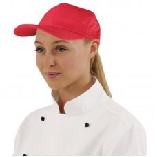 Baseball Cap rood Koksmutsen en Caps