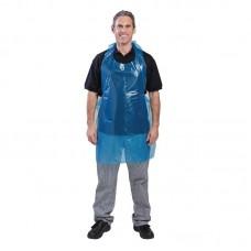 Disposable schorten blauw Per 100 Schorten Horeca