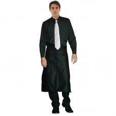 Heren overhemd zwart - Maat L Heren Overhemd