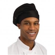 Chef Works koksmuts zwart Koksmutsen en Caps