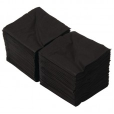Zwarte servetten tbv F980 Servetten