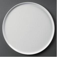 Olympia Whiteware Pizzabord Ø 33 cm. Per 4 Olympia Wit Porselein