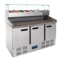 Polar Gekoelde Pizza/sandwich | Prepareer Counter | 368 Liter | ACTIE