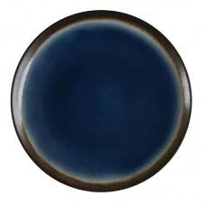 Olympia Nomi Ronde Tapascoupeborden Blauw-Zwart Ø 19,8 cm. Per 6 Olympia Nomi Nieuw