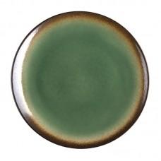 Olympia Nomi Ronde Tapascoupeborden Groen-Zwart Ø 19,8 cm. Per 6 Olympia Nomi Nieuw