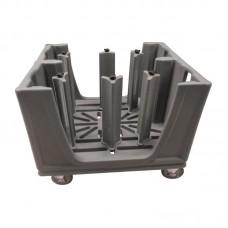 Cambro Verstelbare Servieswagen Bordenwagen | Voor Borden 11 tot 33 cm. Transport / Opslag
