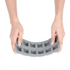 IJsblokjesvorm | 12 Blokjes | Flexibel Silicone IJsblokjesvormen