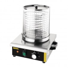 Buffalo | Hotdogwarmer | Bain Marie | Glazen Cilinder | NIEUW Worstenwarmers