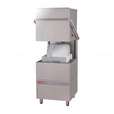 Gastro M Doorschuifvaatwasmachine Maestro 50x50 400V met Afvoerpomp, Zeepdispenser en Breaktank Vaatwasmachines