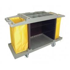 Bolero huishoudwagen 2 x 77ltr zakken Serveerwagens
