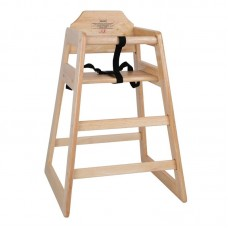Bolero Kinderstoel Naturel | Zithoogte: 50cm. Kindermeubilair