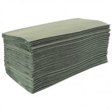 Jantex groen Z-gevouwen handdoeken 1-laags
