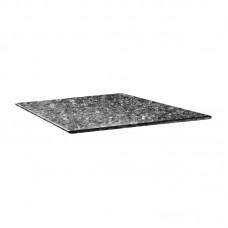 Smartline Vierkant Tafelblad Zwart Graniet 70 x 70 cm. Tafelbladen Smartline Mix & Match Vierkant