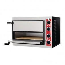 Gastro-M Pizzaoven met 2 Kamers Type Pisa Pizzaovens