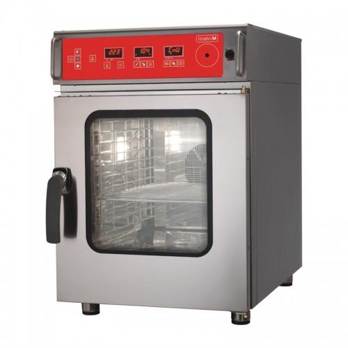 Gastro M Combi-Stoomoven 6 x GN1/1 I 400 Volt Heteluchtovens