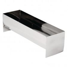 RVS Paté/terrinevorm 26x8x7,5cm