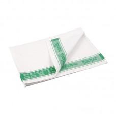 Glasdoek groen Glas- Theedoeken